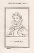 Portrait of Lu�s de Cam�es as Camo�ns (1525-1580)