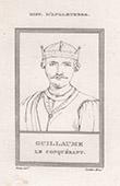 Porträt von Wilhelm I. von England (1027-1087)