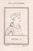 Porträt von Heinrich V.  (1387-1422)