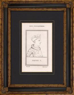 Portr�t von Heinrich V.  (1387-1422)