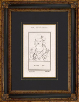 Portr�t von Heinrich VII. Tudor (1457-1509)