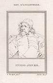 Porträt von Inigo Jones (1573-1652)