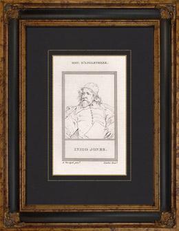 Portr�t von Inigo Jones (1573-1652)