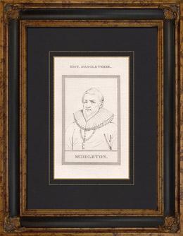 Portr�t von Sir Hugh Myddelton (1560-1631)