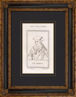 Portr�t von Thomas Morus (1478-1535)