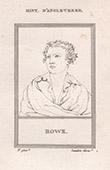 Portrait of Nicholas Rowe (1674-1718)