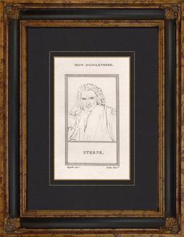 Porträt von Laurence Sterne (1713-1768)