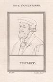 Portrait of John Wycliffe (1326-1384)