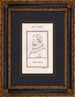 Portr�t von Carlo Fontana (1638-1714)