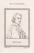Portrait of John Dryden (1631-1700)