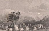 Druid's Stones - Ruins of a Druid temple - Cumbria (England)