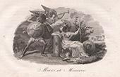Mythologie - Mars und Minerva