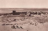 Ansicht von Bourem (Sudan - Westafrika)