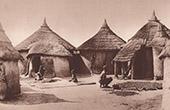 Shacks near of Banfora (C�te d'Ivoire - West Africa)