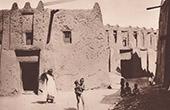 Ein altes Haus in Timbuktu (Mali - Westafrika)
