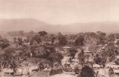 Sikte av Kpalim� (Togo - V�stafrika)