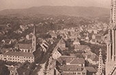 General View of Zagreb - Aerial View of Cathedral (Croatia)