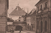 View of Zagreb - Antique Stone Gate (Croatia)
