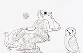 Mythology - Venus - Dove - Owl