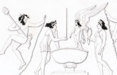 Mythology - Bath of Venus and a Grace - Eros