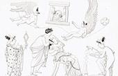 Mythology - Venus and Adonis - Eros and Himeros - Charites - Proserpina
