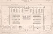Architecture - Sanatorium - Zuydcoote - Nord-Pas-de-Calais - Overall plan (Mai