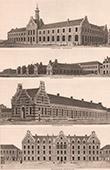 Architecture - Sanatorium - Zuydcoote - Nord-Pas-de-Calais - Facade (Maistrasse & Berger)