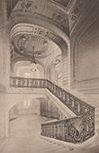 Arquitectura - Prefectura de Alto Vienne - Limoges - Escalera (Godefroy)