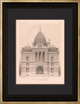 Architektur - Museum d'Histoire Naturelle - Paris (Dutert)