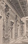 Architecture - House in Vienna - Austria - Cornice (Otto Wagner)