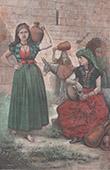 Traditionelle Kleidung - Tyros - Grube von Hiram (Libanon)