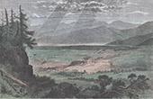 Ansicht von Zakopane - Tatra (Polen)