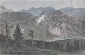 Ansicht von Tatra - Karpaten (Polen - Slowakei)