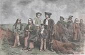 Traditionelle Kleidung - Polen - Podhale - Karpaten - Jude
