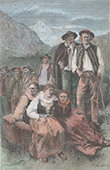 Gebirgsbewohner in Podhale - Tatra - Karpaten (Polen)