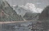 Dunajec in der nähe von Szczawnica - Tatra (Polen)