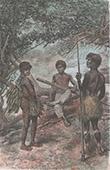 Indigene Volk im Süd-Osten Kolumbiens - Uitoto - Río Orteguaza (Kolumbien)