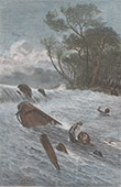 Portuguese Colonial Explorer - Alexandre de Serpa Pinto in Angola - Shipwreck