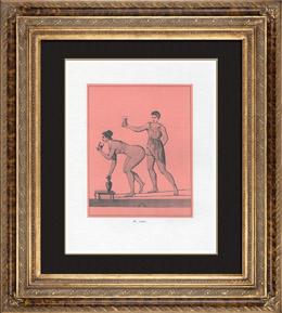 Sammlung des Geheimen Kabinettes - Erotica - Phallus - T�nzer auf einem Seil