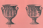 Collection of the Secret Cabinet - Erotica - Italian Vase - Bacchus - Bacchae - Priapus