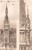 Architecture - Bell Tower of Chamber of commerce in Tourcoing - North (Godefroy & Planckaert)