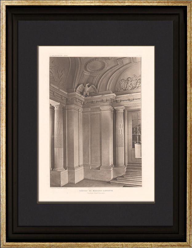 Gravures anciennes gravures de 17 me si cle for Architecture 17eme siecle