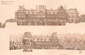 Architecture - Meudon Castle - 1710 - Hauts-de-Seine (Lebret)