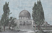 View of Jerusalem - Mosque of Umar (Israel)