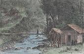 Mühle in Mingrelien (Georgien)