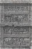 Tempel av Boeroe-Boedor i Java - Bas-reliefs