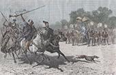 Mbang Mohammedou - King of Baguirmi - Militar Parade (Chad)
