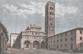 Cathedral of St Martin in Lucca - Tuscany (Italy)