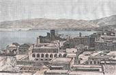 Vista de Beirut - Cordillera del Líbano (Líbano)