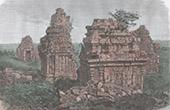 Tempel i Brambanam - Java (Indonesien)